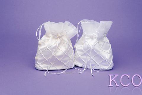 Dolly Bag Style M6920 White~ Special Occasion